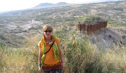 Una 'sapiens' en la cuna de los Homo: Olduvai.