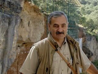 José María Bermúdez de castro, en Atapuerca