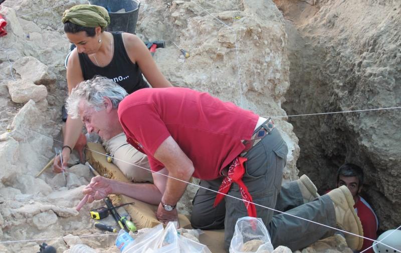 Arsuaga en La Descubierta, en Pinilla del Valle | Rosa M. Tristán