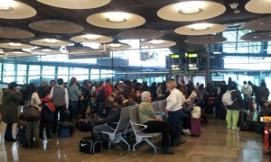 Salida a Guayaquil, Ecuador, desde Barajas. |Rosa M.Tristán