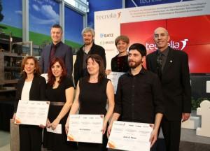 Los premiados Tecnalia 2012. |Correo Vasco