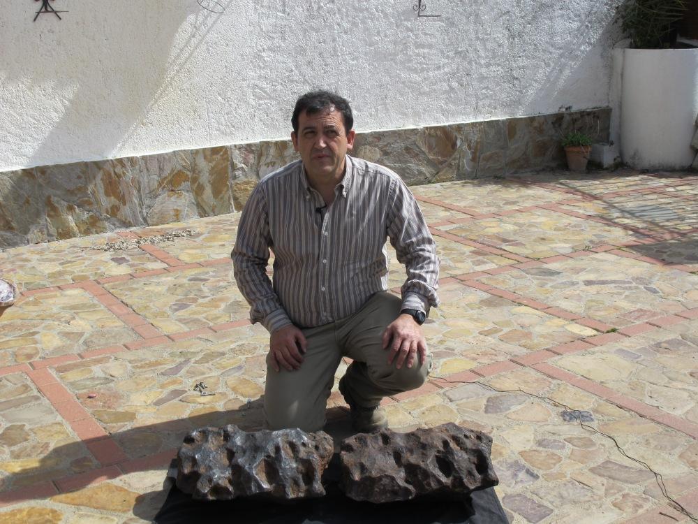 El meteorito de Cabañeros, escondido bajo la cebada (4/4)