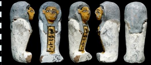 Shabti del ajuar funerario de Ahhotep|CSIC