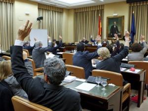 Aprobación Ley de Ciencia, en 2011. |EFE