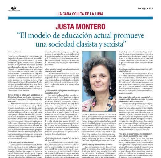 Justa Montero