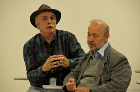 Eudald Carbonell y Jordi Agustí, los autores. |IPHES