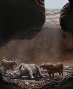 Así eran las trampas naturales, pintadas por Mauricio Antón
