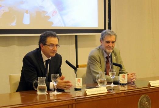 Leopoldo García Sancho y Jerónimo López. en la Residencia de Estudiantes (CSIC).| ROSA M. TRISTÁN