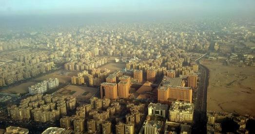 El Cairo, desde el aire. |Rosa M. Tristán