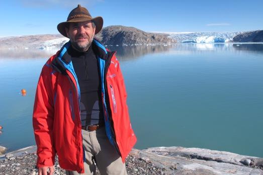 Miquel Serra-Ricart, en Groenlandia. |ROSA M. TRISTÁN