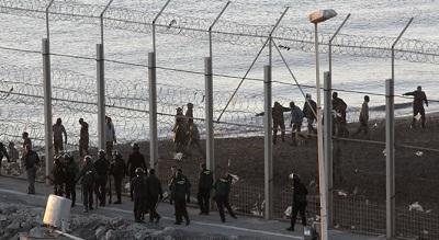 Sucesos en la valla de Ceuta,