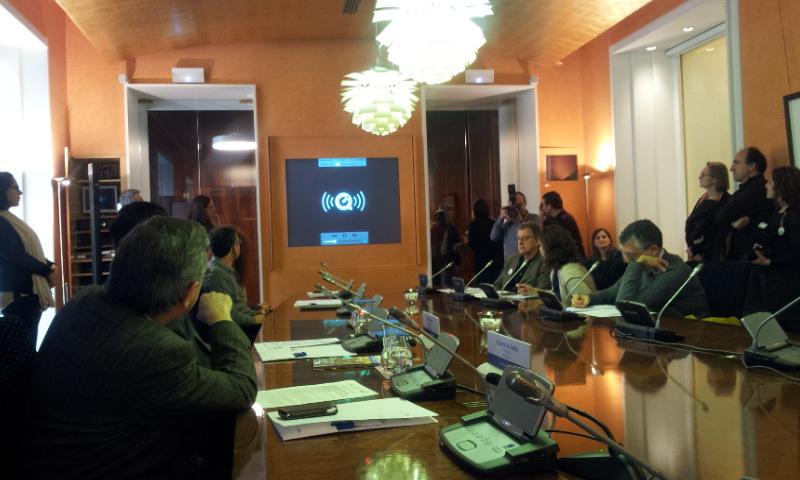 Presentación de la app en la Fundacion BBVA. |ROSA M. TRISTÁN