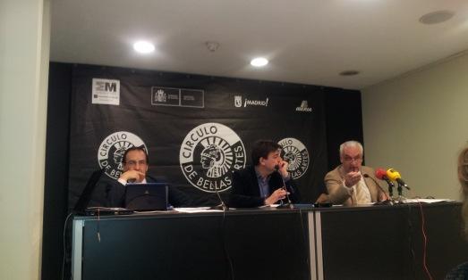 Presentación del informe de COSCE. |ROSA M. TRISTAN