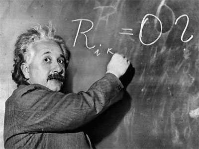 Albert Einstein, el más famoso superdotado.