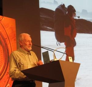 El experto en glaciares Adolfo Eraso, Premio Nacional.