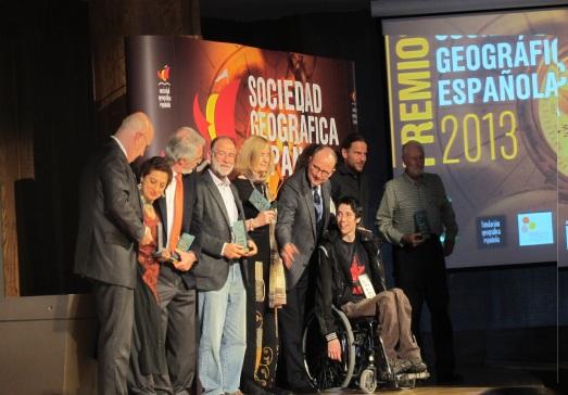 Los premiados SGE de 2013. |RMT