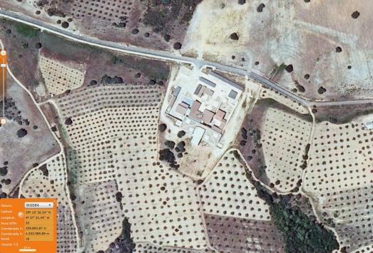 Vista aérea del museo que aún no se ha inaugurado.