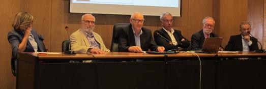 Los ponentes de la jornada en la UCM.|ROSA M. TRISTÁN