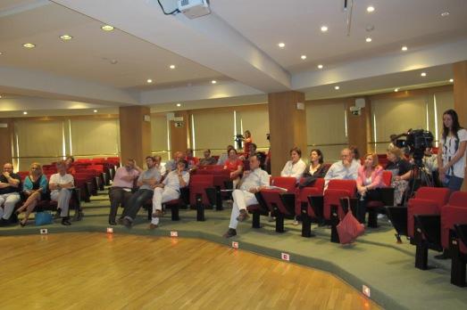 Los asistentes a la jornada de la Plataforma.|Rosa M. Tristán