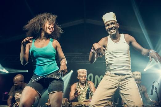 El grupo tanzano Jawga Music.|Jorge Fuembuena
