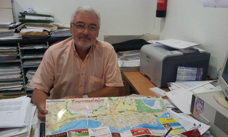 José Manuel Dolón, concejal de Los Verdes en Torrevieja.|ROSA M. TRISTÁN