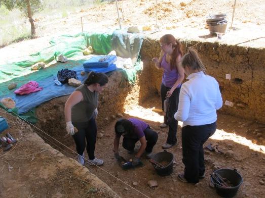 Yacimiento neanderta. de Fuente Mudarra, el de las chicas. |Rosa M. Tristán