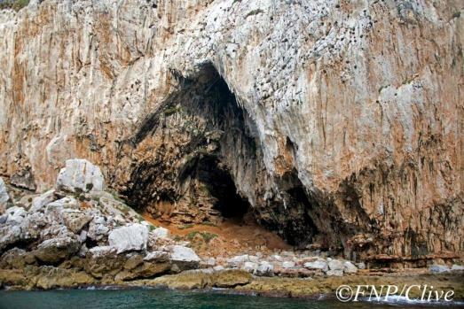 La Cueva de Gorham, en Gibraltar. |FNP Clive