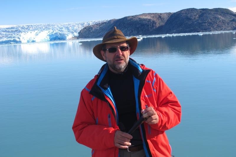 Miquel Serra-Ricart, en Groenlandia en 2014. |ROSA M. TRISTÁN