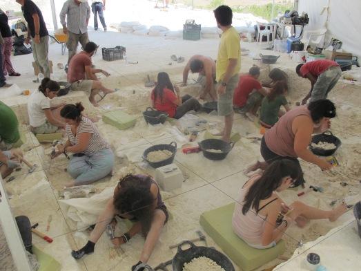 Excavación en Venta Micena durante este verano. |ROSA M. TRISTÁN