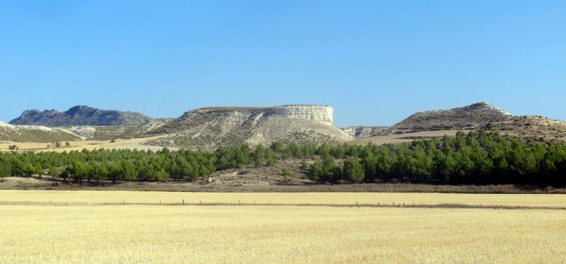 Cuenca de Guadix-Baza. Aquí hubo un lago, con aguas termales, en las que se bañaron humanos de hace 1,4 millones de años. |ROSA M. TRISTÁN