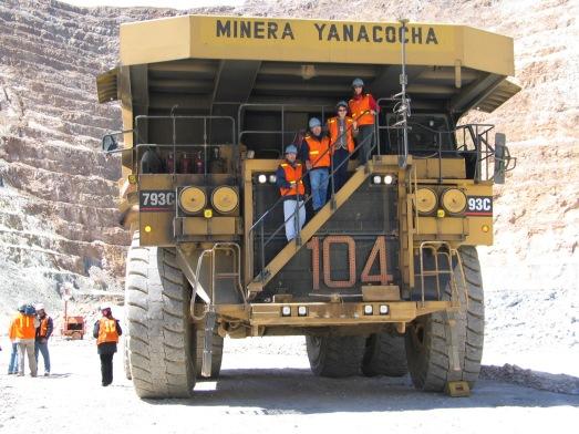 Así son los camiones de Yanacocha. |R.M.T.