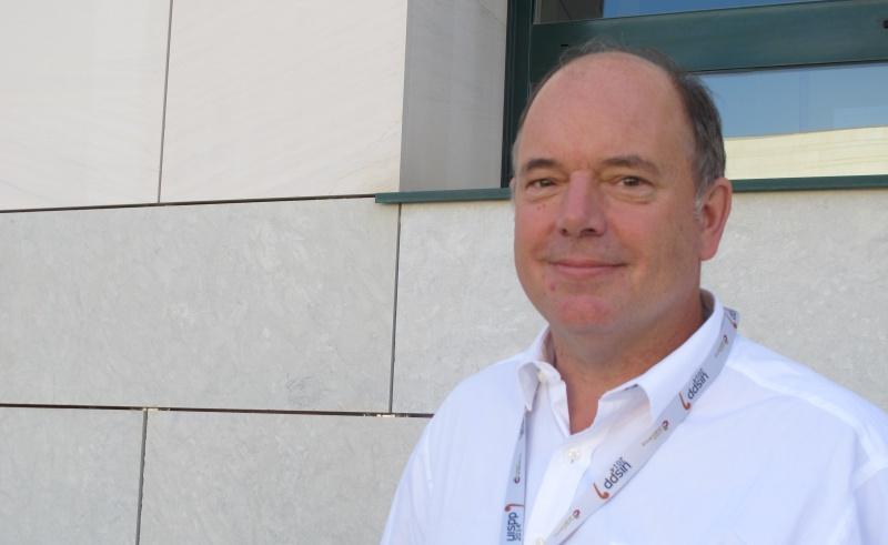 Nick Conard, en el Congreso de la UISPP. |ROSA M. TRISTAN