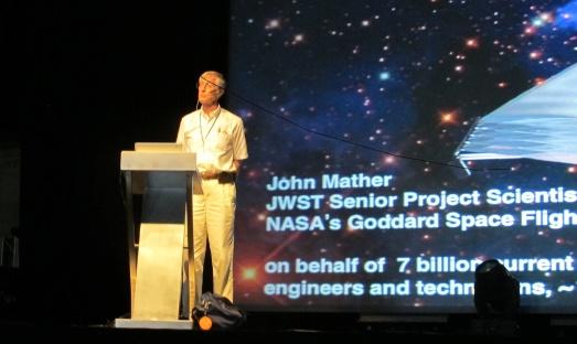 El Nobel John Mather explicó cómo será el futuro Telescopio Espacial James Webb. |R.M.T.