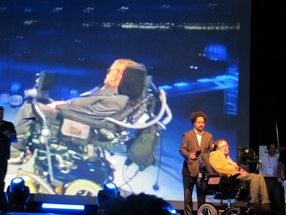 Starmus (2): El Universo-holograma de Stephen Hawking (1/2)
