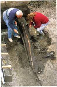 Lanzas de madera de hace 400.00 años, en Schöningen