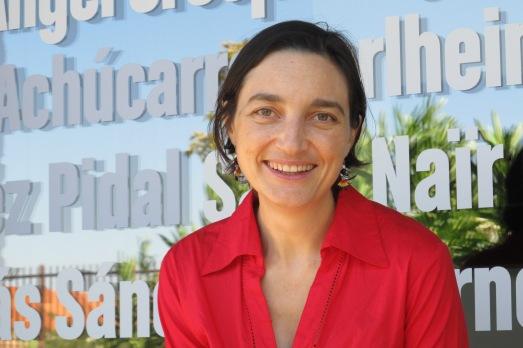La astrofísica Amaya Moro-Martín, en Madrid, antes de su salida hacia EEUU. |ROSA M. TRISTÁN