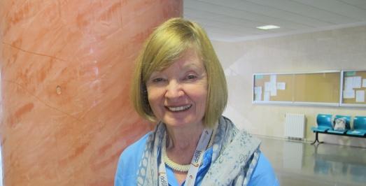 La antropóloga sudafrica Lyn Wadley. |ROSA M. TRISTÁN