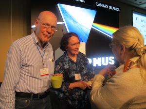 El Nobel de Física Robert Wilson en Starmus Festival. |R.M.T.
