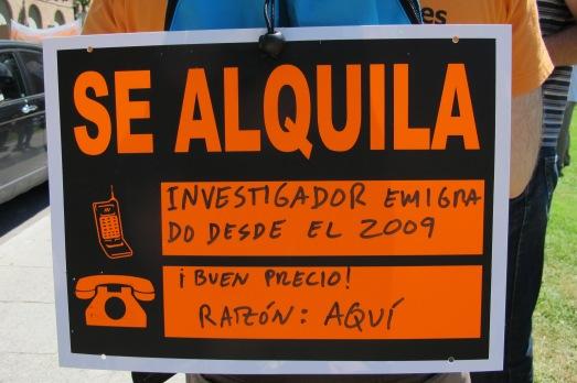 Manifestación por la ciencia. |ROSA M. TRISTÁN