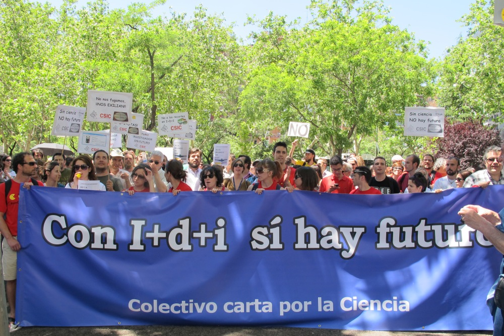 Ciencia en España: cada día más vieja y más pobre (3/3)