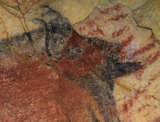 Imagen de una pintura de Altamira de gran precisión.| ASFIMAGEN