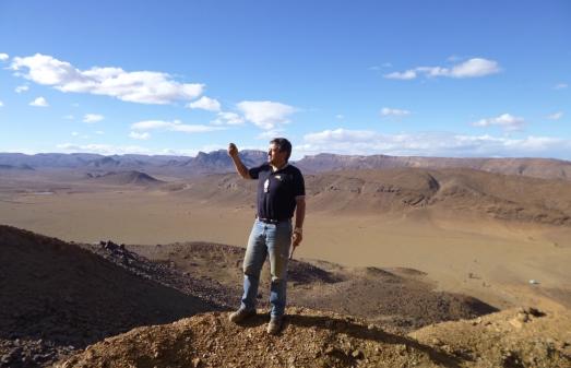 Gutiérrez-Marco, en la región donde ha localizado los fósiles del gusano.