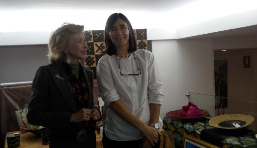 María Teresa Fernández de la Vega y María Blasco. |ROSA M. TRISTÁN