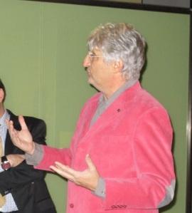 Enrique Baquedano, director del Museo Arqueológico Regional, en la presentación. |ROSA M. TRISTÁN
