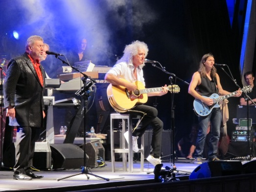 Brian May en concierto en Starmus 2014. @RosaTristán