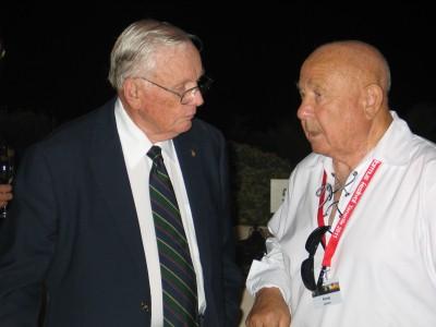 Neil Armstrong y Alexei Leonov, en Starmus 2012. @ROSA M. TRISTÁN