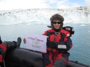 Con Alianza por la Solidaridad en la Antártida